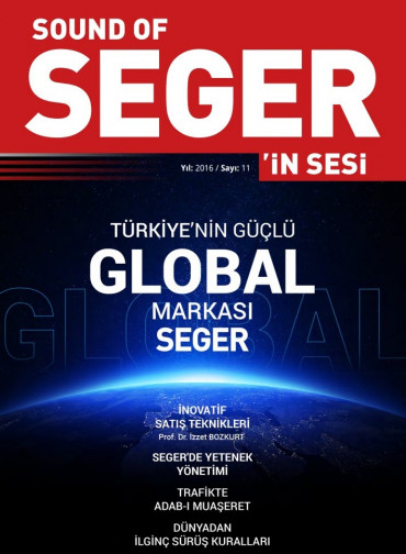SEGER'İN SESİ - SOUND OF SEGER - SAYI 11 - 2016 SAYISI