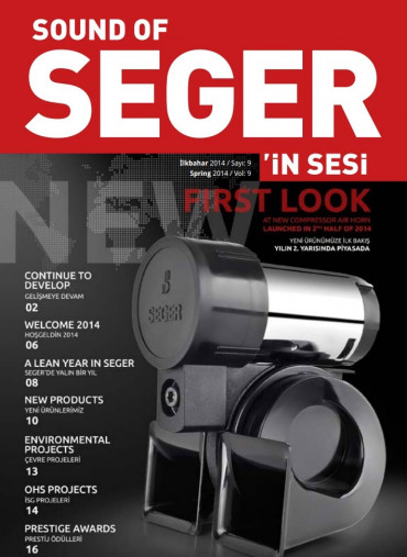 SEGER'İN SESİ - SOUND OF SEGER - İLKBAHAR 2014 SAYISI - SPRING 2014