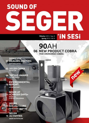 SEGER'İN SESİ - SOUND OF SEGER - İLKBAHAR 2013 SAYISI - SPRING 2013